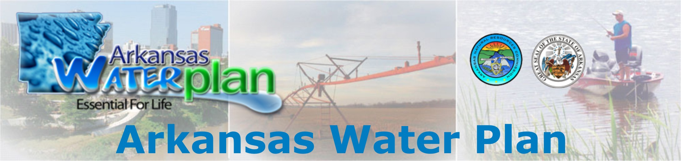 Arkansas Water Plan Banner